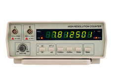Frequency counter Stock Photography