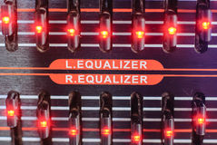 Frequency Fader Stock Image
