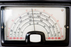 Frequency indicator of radio Royalty Free Stock Photos