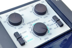 Frequency and Intensity Stock Photo