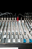 Frequency mixer. With black background Royalty Free Stock Images