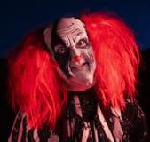 Frequentierter Clown stockfotos