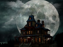 Frequentiertes Haus Stockfoto