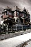 Frequentiertes Haus Lizenzfreies Stockfoto