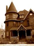 Frequentiertes Haus Lizenzfreies Stockbild