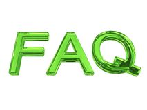 Frequently asked question Royalty Free Stock Photos