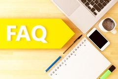 Free Frequently Asked Questions Royalty Free Stock Photo - 146560335