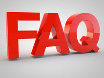 Frequently asked questions Royalty Free Stock Photography