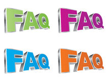 Frequently asked questions Royalty Free Stock Image