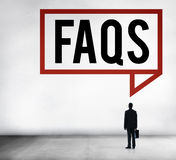 Frequently Asked Questions Faq Feedback Information Concept Stock Images