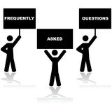 Frequently Asked Questions Frequently Asked Questions Stock Image