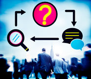 Frequently Asked Questions Inquiry Asking Concept Stock Photography