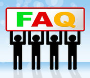 Frequently Asked Questions Means Answer Info And Asking Stock Photos