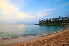 Kaanapali Beach in Lahaina, Maui, Hawaii. Frequently rated as one of the most beautiful beaches in the world - Kaanapali Beach in Lahaina, Maui, Hawaii stock photography