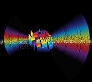 Frequenza di musica. illustrazione vettoriale