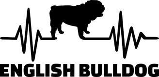 Frequenza inglese del bulldog royalty illustrazione gratis