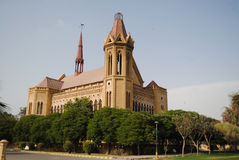 Frere Hall. Is one of the few well-preserved buildings from the days of the British Raj that still exists in Karachi, Sindh, Pakistan Stock Photos