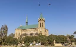 Frere Hall dans la Karachi, Pakistan Photographie stock libre de droits