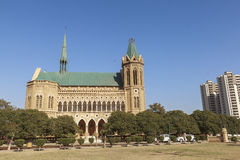 Frere Hall i Karachi, Pakistan Royaltyfri Fotografi