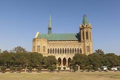 Frere Hall i Karachi, Pakistan Arkivfoto