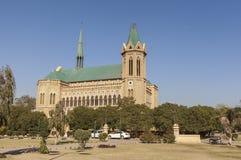 Frere Hall i Karachi, Pakistan Fotografering för Bildbyråer