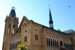 FRERE HALL-KARACHI PAKISTAN Stock Image