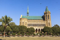Frere Hall in Karachi, Pakistan. This photo is taken in Karachi, Pakistan. Frere Hall is one of the many remnant buildings of the British Colonial era that still Royalty Free Stock Images