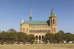 Frere Hall in Karachi, Pakistan. This photo is taken in Karachi, Pakistan. Frere Hall is one of the many remnant buildings of the British Colonial era that still Stock Photo