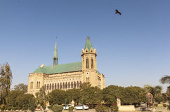 Frere Hall in Karachi, Pakistan Royalty Free Stock Images