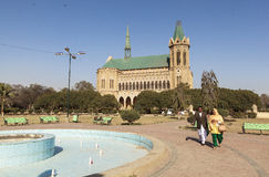 Frere Hall in Karatschi, Pakistan lizenzfreies stockfoto