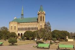 Frere Hall in Karatschi, Pakistan Lizenzfreie Stockfotos