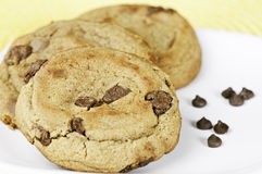 Frersh baked cookies royalty free stock photo