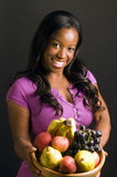 Fres hispaniques de femme d'afro-américain Image stock