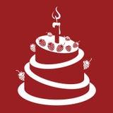 Fresa cake Imágenes de archivo libres de regalías