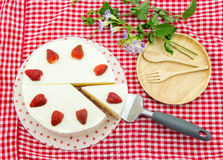 Fresa cake imagenes de archivo
