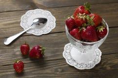 Fresa fresca roja Foto de archivo libre de regalías
