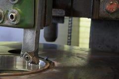 Fresadora industrial Fotografía de archivo