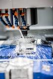 Fresadora metalúrgica del CNC Fotos de archivo
