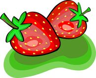 Fresas libre illustration