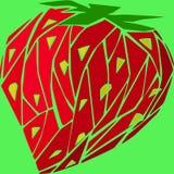 Fresas de polígonos Imagen de archivo