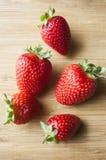 Fresas dulces frescas imagen de archivo libre de regalías