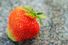 Fresas frescas Imagen de archivo libre de regalías