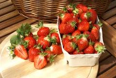 Fresas frescas imagen de archivo