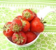 Fresas frescas Imagenes de archivo