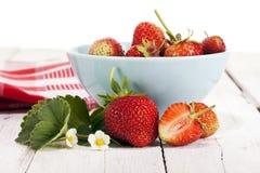 Fresas frescas del jardín Foto de archivo libre de regalías