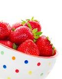 Fresas jugosas frescas Foto de archivo libre de regalías