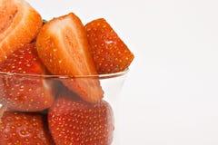 Fresas maduras del juicey Fotografía de archivo libre de regalías