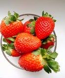 Fresas rojas Imagen de archivo libre de regalías