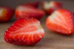 Fresas rojas Imagenes de archivo
