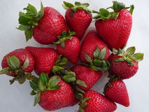 Fresas rojas frescas Imagen de archivo